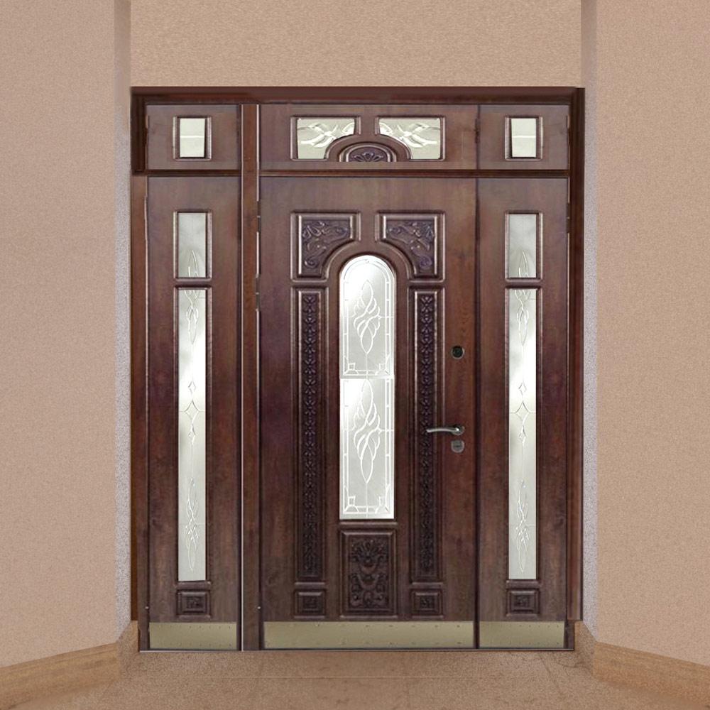 Дубовые двери ОКА из комбинированного массива