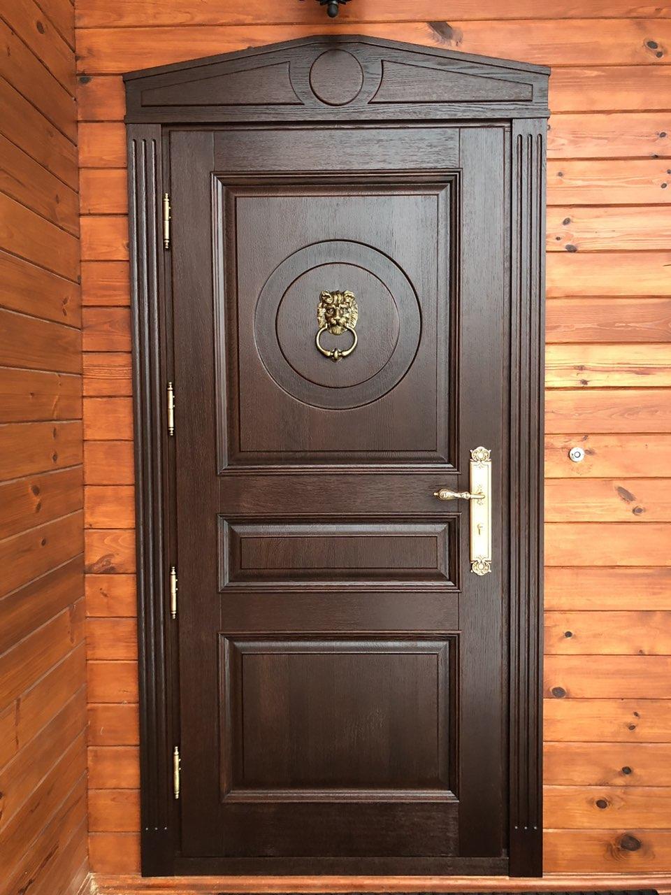 Входные двери из массива дуба Купить стальную дверь с