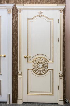 IKEA дверь НЕКСУС 99894581 дубовый шпон, беленый, 50x229
