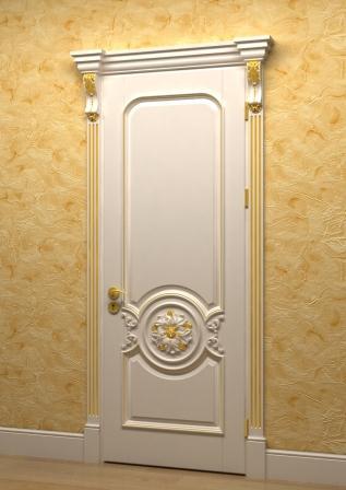 Классические распашные двери